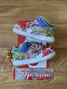 Nike Dunk Low City Market TD Size 6c