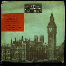 Paul Badura-Skoda - Mozart Piano Sonatas LP VG WN 18028 Westminster Mono