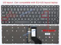 New for Acer Predator Helios 300 G3-571 G3-572 G3-572-72YF US Keyboard Backlit