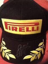 Sebastian Vettel  Signed Monaco Ferrari  F1 Podium Pirelli Cap