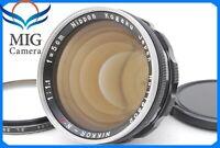 【Near MINT 】NIKON Nikkor-N·C 50mm f/1.1 Nippon Kogaku Lens S-Mount 482