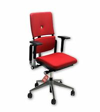 Steelcase Please V2 chaise NEUF tissu rouge