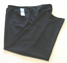 Womens NY Collection Black Slacks/Pants, Polyester Blend, Size 24, NWT