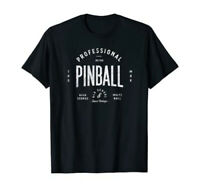 Professional Retro Pinball Old School Vintage T-Shirt by Turbo Volcano *NEW*