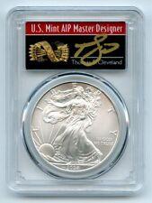 2008 $1 American Silver Eagle 1oz Dollar PCGS MS70 Thomas Cleveland Arrows
