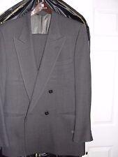 LANVIN Men's Suit ; Double Breasted ; 2 Piece