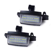 2x Fit For Mitsubishi Lancer Sportback Outlander Car LED License Plate Light