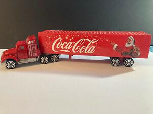 jouet miniature Coca-cola 1/87 Camion Americain de livraison tbe sans boite