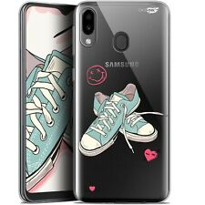 """Coque Gel Samsung Galaxy M20 (6.3"""") Extra Fine - Mes Sneakers d'Amour"""