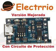 EL2012 Módulo Cargador Baterias Litio CON PROTECCION MP1405 TP4056  03962A 5V 1A