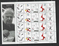 US SCOTT 3198 - 3202 PANE OF 20 ALEXANDER CALDER 32 CENTS⭐⭐⭐⭐⭐⭐