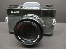 Rollei Rolleiflex model SL35M camera with 50mm f1.8 HFT lens 35mm film camera