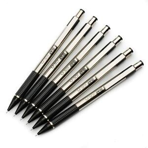 Zebra M-301 Stainless Steel Mechanical Pencil - 0.5mm HB - Black