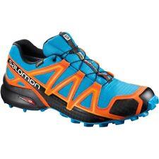 Zapatillas de deporte naranja de goma
