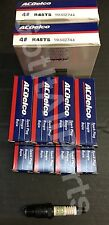 NEW AC Delco R45TS Spark Plug Box Set of 8 19157995 AcDelco