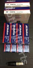 NEW ACDelco R45TS Spark Plug Box Set of 8 19157995 Delco
