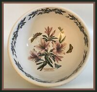 "Portmeirion The Botanic Garden-XXL Serving Bowl 11.25"" - Rhododendron Liliflorum"