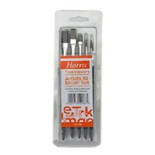 Artists 10 Brush Set Harris Taskmasters for fine detail, crafts and hobbies