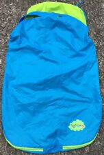 TINY TILLIA Blue Infant Car Seat Cover ~ Water Resistant Nylon Baby Protection