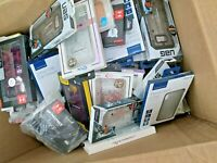 LOT OF 100 PREMIUM BRANDED PHONE CASES & ACCESSORIES iPhone X, XR, XS Max
