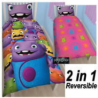 Dreamworks Home 'Boov' Oh Single Panel Duvet Cover Childrens Bed Set New Gift