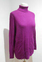 BNWT Marks & Spencer Limited Collection pink purple roll neck ribbed top 20 NEW