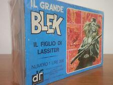 IL GRANDE BLEK 1/16 cpl Ed. Dardo 1976