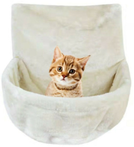 Cat Kitten Hanging Radiator Pet Dog Bed Warm Fleece Basket Cradle Hammock Plush