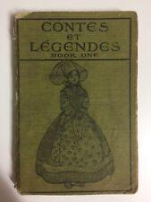 Contes et Legendes Premiere Partie by H A Guerber Green Cloth Boards 1925
