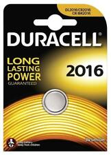 UK Duracell CR2016 3V Lithium Button Battery Coin Cell DL2016 FAST FREE POST
