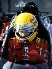 Ayrton Senna Toleman TG184 F1 Season 1984 Photograph 3
