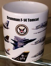F 14 Grumman F14 A Tomcat US Navy NAS USAF ~USS Kitty Hawk~ Miramar Ltd EdT MUG