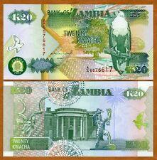 Zambia, 20 Kwacha, 1992, P-36 (36a) UNC > Eagle