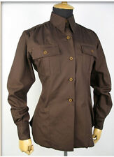 "US Army Women ""Chocolate"" Shirt Air Corps WW2 Gr XL Fieldshirt WAC WASP"
