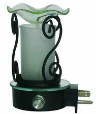 ELECTRIC OIL TART WARMER BURNER WALL PLUGIN SCROLL LAMP NIGHTLIGHT FRAGRANCE OIL