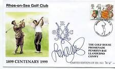 1999 Golf Cover Rhos-on-Sea SIGNED Laura Davies