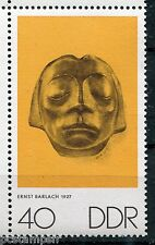 ALLEMAGNE DDR 1970, timbre 1290, TETE MONUMENT, ERNST BARLACH, neuf**