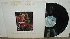 BARBARA MANDRELL Christmas at Our House, original vinyl LP, 1984, VG+/VG,country