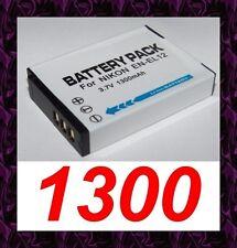★★★ 1300mAh BATTERIE Lithium ion  ★ Pour Nikon Coolpix S710 / EN-EL12