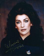 Marina Sirtis ++ Autogramm  ++ Star Trek ++ L.A. Crash ++ Doomsday