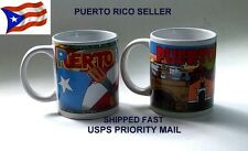 Coffee Mug Puerto Rico Flag Cup Winter Hot Breakfast Kitchen Food Cooking Recepi