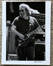 Jerry Garcia Original Signed Gicle'e Print By Bob Minkin
