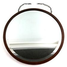 Vintage Round Wall Mirror Lot 3395