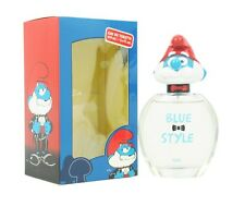 THE SMURFS BLUE STYLE PAPA 3 D FOR BOYS 3.4 OZ EDT SPRAY NEW IN BOX