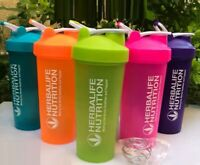 Herbalife Shake Cups W/ Stir Ball Sports Water Bottle Outdoor Nutrition PP 20 oz