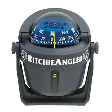 NEW Ritchie RA-91 RitchieAngler Compass - Bracket Mount - Gray