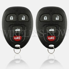 2 Car Key Fob Keyless Remote 4Btn For 2005 2006 2007 2008 2009 Buick Allure
