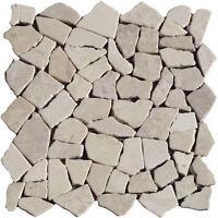 mosaikfliesen holzoptik bruchmosaik mosaik fliesen braun frostsicher basteln ebay. Black Bedroom Furniture Sets. Home Design Ideas