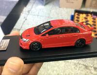 Rare!! Mugen RR Honda Civic Red 1/43 Scale Resin Model Car
