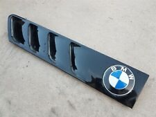 BMW E36 Z3 OEM Hood Left Side Roundel Vent Trim Gill Molding- Anthracite Black